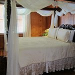 Pansy Poe's bedroom cottage