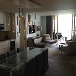  Dining and living room in suite