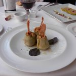  stuffed artichokes and fois gras