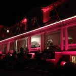  Stanley Hotel during outdoor screening of The Shining