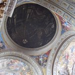  L &quot;falsa cupola&quot; nell&#39;affresco di Andrea Pozzo