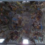  L&#39;affresco di Andrea Pozzo &quot;La Gloria di Sant Ignazio&quot;