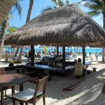 Beach Bar by the Caribbean.