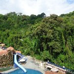  View of the Pool which backs up to the jungle of the Manual Antonio park