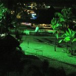  A late night shot of the beach area