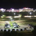 View of Casino at night