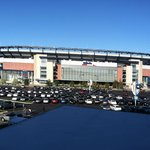  View of Gillette Stadium from our room