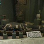 Egyptian Mummy display