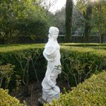  A statue in the garden.