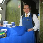 Waiter In Dome Car To Machu Picchu