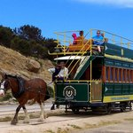 Victor Harbor Tramway - Horsedrawn Tram