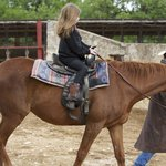 7 year old riding