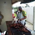  Jerk Chicken for lunch.. delicious