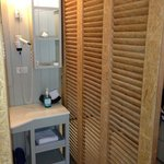 Bathroom sliding door