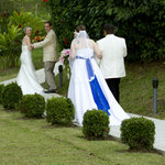 double wedding at Arenal Volcano Inn