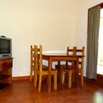 2 bedroom apartment - dining area