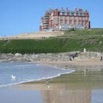  Fantastic view of the headland from Fistral beach.