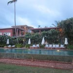  villas and swimming pool
