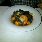 Pasta Nero shrimps