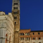  Lucca in the night, walking distance from B&amp;B