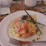 Smoked Salmon and Poached Eggs - Gorgeous!