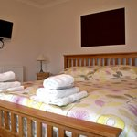  Coombe Premier lodge with superkingsize bed
