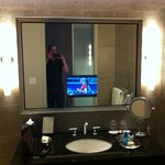  Everyone needs a bathroom with a TV