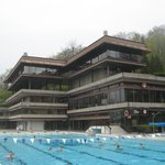 the swimming-pool, Hotel Thermal, Karlovy Vary