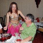 Birthday Cake and Bellydancer - Lucky Boy!