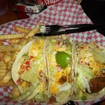  Shrimp taco and fish tacos
