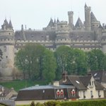  Pierrefonds Castle - view from the window
