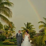 A rainbow on our big day!!