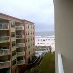  View from &quot;beach view&quot; room