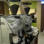  Coffee maker at dining area, self service