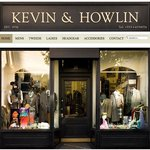 Kevin &amp; Howlin store front on Nassau Street, Dublin