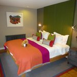 Comfy Colourful bedroom...