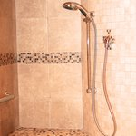 new shower in Santa Fe