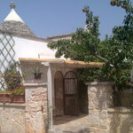 Entrance to B&B Trullo Casa Rosa-Pergola