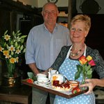 A warm welcome to Huxtable Farm B&B