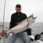 Chinook Fishing off the coast of Vancouver Island