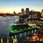  The view from my room at the Four Seasons - Baltimore
