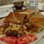 Breakfast time at Ilia Mare Hotel