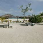  Strandabschnitt fr Wasserbungalows