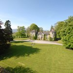 Bansha Castle, Copper Beech, Lawn, Chestnut