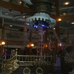  Ship in the atrium.