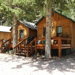 cabins 3 & 4 - one bedrooms with full kitchens