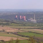  Ironbridge Power Station from the Wrekin Summit