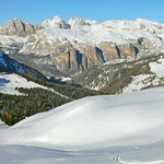  Selva val Gardena from Canazei