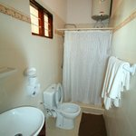 Bathroom for sea view room