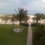  This pic was taken from our balcony looking out towards the beach.